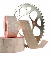 special paper masking labels, suitable for temperatures to 100°C for spray painting