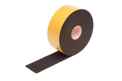 Dämpfungsscheiben, schwarz, 4 mm dick, eckig, 9 x 12 mm