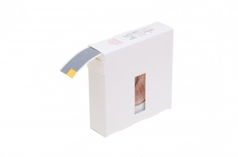 """Klebepunkte aus beidseitig klebendem Polyethylen-Schaum, """"Steier-Pads"""", 12 x 20 mm, schwarz"""