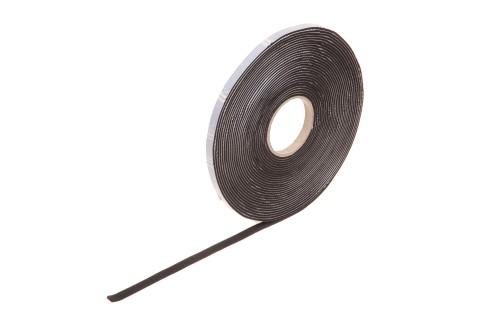 Rollen aus EPDM-Zellgummi, schwarz, 2 mm dick,