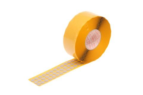 Dämpfungsscheiben, hellgrau, 1 mm dick, 10 mm Ø