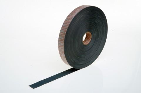 Aufkleber aus grauem Universal-Gewebe, vielseitig einsetzbar, z.B. für Befestigungen von Warenanhängern an KLT-Boxen