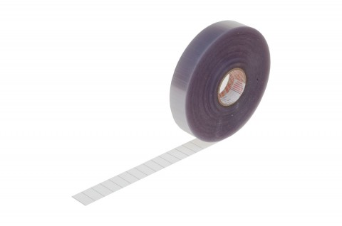 "adhesive strip ""Attachment Foil"",  30x15mm, made from extremely strongly adhesive soft transparent foil"