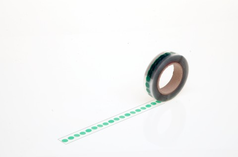 masking labels made from PET foil, heat resistant to +200°C., for masking prior to power coating and wet paint applications