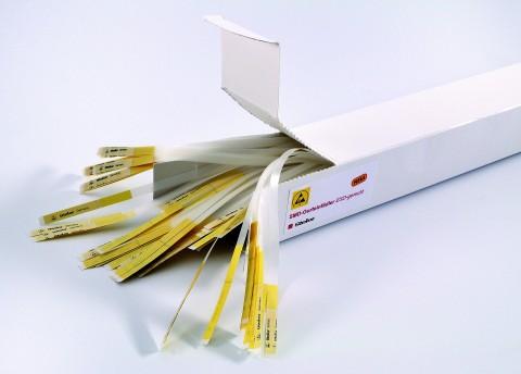 SMD-Gurteinfädler, ESD-gerecht, zur Verlängerung der Deckfolie