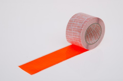 Reel Sealer, fluorescent orange, ESD safe, for the marking and sealing of SMD Tape reel ends