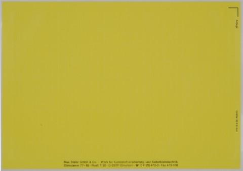 gelbe Etiketten für Beschriftungen per Laserdrucker, Gewebe, VE = 50 Bogen,