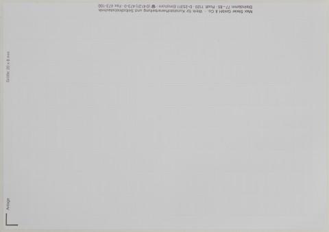 weiße Etiketten für Beschriftungen per Laserdrucker, Polyesterfolie, VE = 50 Bogen,