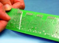SMD-Probebestückungsbogen für Pastendruck, 1-seitig selbstklebend, DIN A4, transparent
