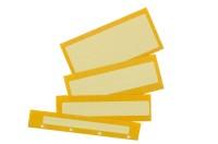 SMD-Gurtverbinder für 8 mm Gurte, nicht ESD-gerecht, gelb, Einzelstücke