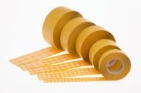 Flachkrepp-Abdecketiketten  bis + 140°C temperaturbeständig zum Abdecken beim Lackieren