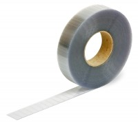 closure pads, transparent, 30x12mm, extremely strong adhesive
