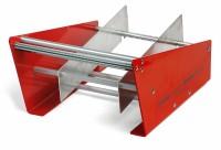 manuelles Spendegerät, Farbe: rot Arbeitsbreite: 180 mm