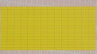 gelbe Geräte-Kennzeichnungsschilder aus Gewebe zur manuellen Beschriftung, VE = 100 Bogen,