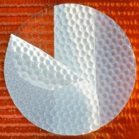 Klebepunkte aus beidseitig klebendem PVC, absolut silikonfrei!