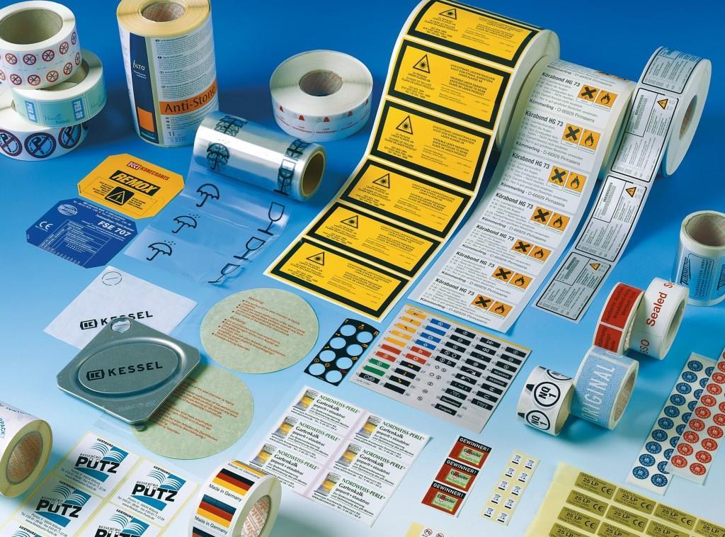 Technische Etiketten